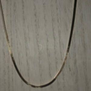 "16"" sterling Silver herringbone chain"